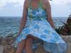 Erin in her pretty dress